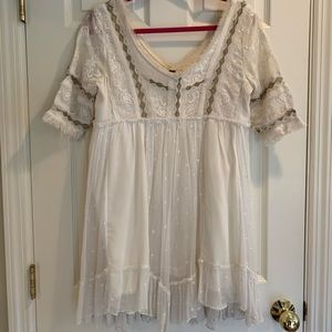 Free People babydoll dress